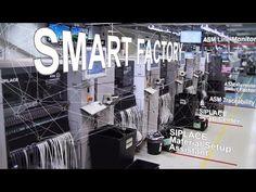 (49) ASM Smart SMT Factory Network: Aros electronics in Gothenburg, Sweden - YouTube