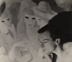 Cecil Beaton by Curtis Moffat, circa 1928, National Portrait Gallery, London