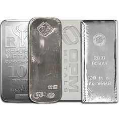 Silver Bar (100 Oz) from Independent Living Bullion.