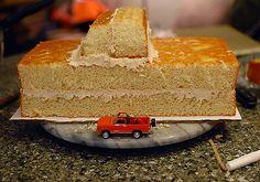 monster truck cake   sugarsongcakes