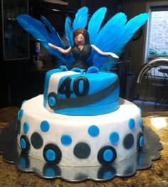 330 Best 40th Birthday Cakes Images Fondant Cakes 40th