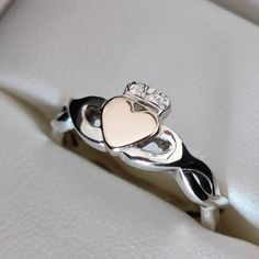 Bespoke & Unique Claddagh Rings by Claddagh Design Irish Jewellery. Made in Ireland. Hallmarked by the Assay Office, Dublin Castle Dublin Castle, Irish Jewelry, Claddagh Rings, Bracelets For Men, Precious Metals, Handcrafted Jewelry, Bespoke, Heart Ring, Ireland