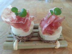Bloemkoolmousse met Pancetta - Lekker Tafelen !