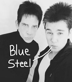 Justin Bieber Proves He's Really, Really, Ridiculously Good Looking In This Blue Steel Selfie With Derek Zoolander!