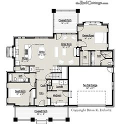 images about Cottage Floor Plans on Pinterest   Floor Plans    The Red Cottage Floor Plans  Home Designs  Commercial Buildings  Architecture  Custom Plan
