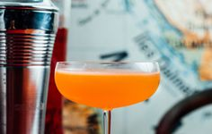 The ideal aperitivo: simple to make, easy to drink. Amaro, Aperol, bourbon, and lemon juice