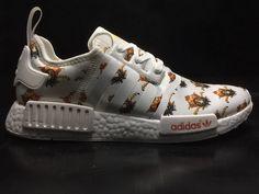 4a4b1ceda Gucci X Adidas NMD R1 Jungle Green Ba7522 Real Shoe