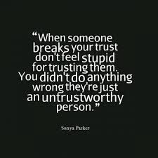 It's not about you.  They were unworthy or predatory or unreliable etc.  And, they try to shift the blame.  Always.