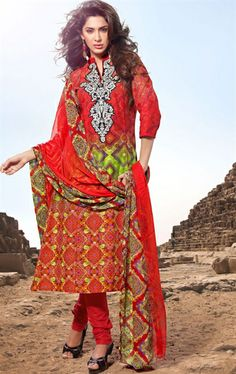 Picture of Impressive Maroon Color Salwar Kameez for Wedding