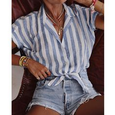 Tank Top For Women Evening Tops For Women Printed Blouse Bow Blouse Sn – themylover Casual Summer Outfits, Cute Outfits, Cute Summer Clothes, Outfit Ideas Summer, Cute Summer Shirts, Summer Outfits Women 20s, Womens Fashion Casual Summer, Emo Outfits, Modest Outfits