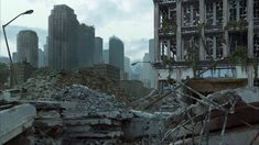 post apocalyptic cityscape - Google Search