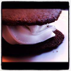 Very chocolate Cookie and Icecream fot. Icecream, Cookies, Chocolate, Desserts, Food, Crack Crackers, Tailgate Desserts, Ice Cream, Deserts