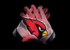 Men's Nike NFL Arizona Cardinals Vapor jet 2.0 Gloves