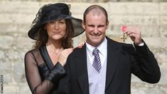 """Former England director of cricket Andrew Strauss says it has been a """"long five months"""" since his wife Ruth died from a rare lung cancer in December. Cricket, Bbc, Perspective On Life, Lung Cancer, Under Pressure, Famous Brands, Sport, Designer Collection, Biography"""