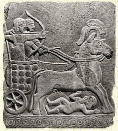Char de guerre Hittite - Karkemish)