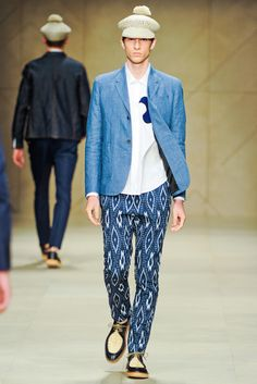 Burberry Prorsum Spring 2012 Menswear Collection Slideshow on Style.com
