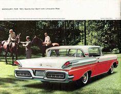1958 Mercury Montclair Turnpike Cruiser