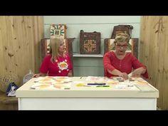 Como fazer bloco de tulipas em patchwork - Ana Cosentino - YouTube