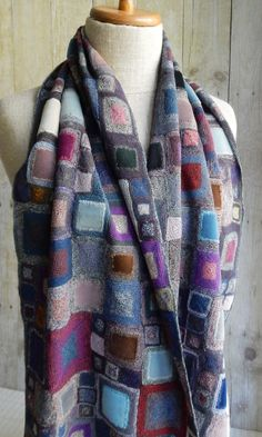 """""""Manouche"""" scarf   The French Needle   French Needlework Kits, Cross Stitch, Embroidery, Sophie Digard"""