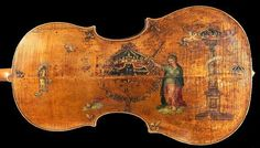 """""""The King"""" Violoncello made by the great Andrea Amati in Cremona around 1538    The King, as it is now called, is the earliest bass instrument of the violin family known to survive. It is now exhibited by the National Music Museum on the campus of the University of South Dakota, USA  http://orgs.usd.edu/nmm/Cellos/Amati/Amaticello.html"""