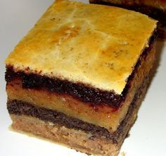 Minden sütemények királynője: a Flódni Hungarian Desserts, Hungarian Recipes, Hungarian Food, Holiday Dinner, Winter Holiday, Soul Food, Nutella, Deserts, Goodies