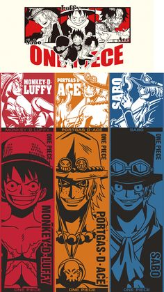 Monkey D Luffy portgas d ace and sabo One Piece Sabo One Piece, One Piece Luffy, Cute Anime Guys, I Love Anime, Portgas Ace, Mugiwara No Luffy, One Piece Wallpaper Iphone, Chibi Marvel, One Piece Series