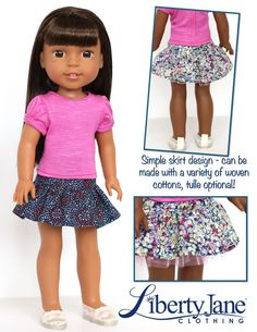 Wellie Wishers Doll Clothes Pattern