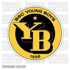 BSC Young Boys Bern Switzerland Vinyl Sticker Decal