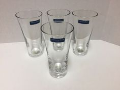 4-Villeroy-amp-Boch-Cocktail-amp-Iced-Coffee-Glasses-14-ounces-Never-Used