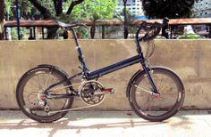 Bike Friday w/ Tangent Fenders