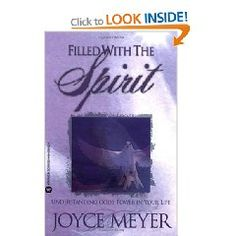 Filled with the Spirit: Understanding God's Power in Your Life #God #spirit #joycemeyer #books #book #Jesus #christian