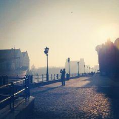 Mroźny poranek w Gdańsku / Frosty morning in #Gdansk