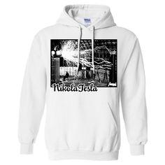 Tesla Coil Two Tone Sweatshirt Hoodie
