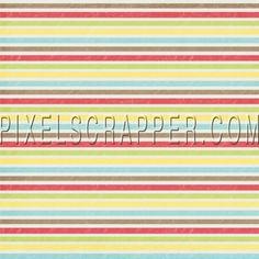 Lluvia, lluvia de papel rayado colorido