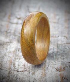 Mulberry Wood Ring a lovely court shape ring perfect for as a wooden engagement ring
