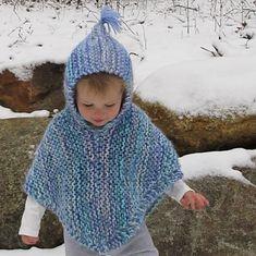 Hooded Poncho Pattern, Poncho Knitting Patterns, Crochet Patterns, Knitting Designs, Toddler Poncho, Girls Poncho, Crochet Baby Poncho, Knitted Poncho, Kids Crochet