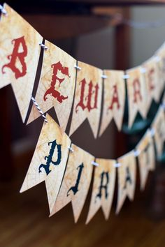 Boys Pirate Themed Birthday Party Banner Ideas