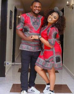 Checkout these Beautiful Ankara Couples Matching Outfit - Ankara collections brings the latest high street fashion online Couples African Outfits, African Attire, African Wear, African Dress, African Style, African Women, African Image, African Clothes, Latest African Fashion Dresses
