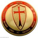 knights-templar-coin-pure-gold-plated-exclusive-art-coin-special-limited-edition-coins-only-500-made