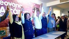 Alcántar Baca fue acompañada durante la jornada electoral por Beatriz Mojica secretaria general del Comité Ejecutivo Nacional del PRD, Antonio García Conejo, secretario general del PRD en el estado, y ...