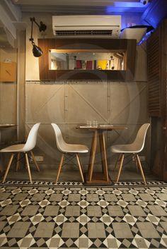 The Nutcracker in Kala Ghoda has beautiful food and interiors. Bar Stools, Interiors, Table, Furniture, Beautiful, Ideas, Food, Home Decor, Bar Stool Sports
