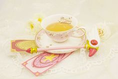 Cardcaptor Sakura / cup + saucer + ice cream spoon Set sold by Harajuku fashion. Shop more products from Harajuku fashion on Storenvy, the home of independent small businesses all over the world. Cardcaptor Sakura, Chihiro Cosplay, Sakura Card Captors, Otaku, Sakura Cosplay, Nerd Room, Geode Cake, Ice Cream Spoon, Sakura Cherry Blossom