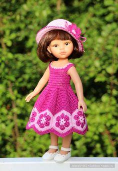 Цветочные мотивы. Игровые куклы Paola Reina. Одежда своими руками / Paola Reina, Antonio Juan и другие испанские куклы /…