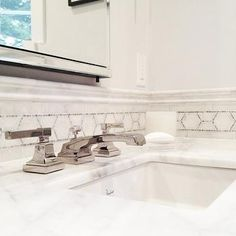 Mosaic Marble Accent Tiles