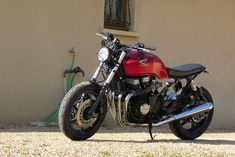 JRF Customs moto: BRATSTYLE SEVEN FIFTY CB 750