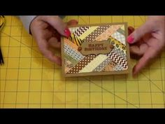 Use your WASHI TAPE to make cool cards! Also, trick with scor-tape S1E2 - YouTube