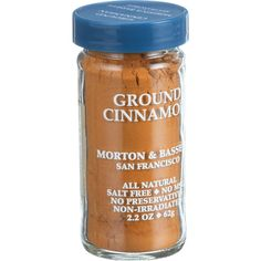 Morton and Bassett Seasoning - Cinnamon - Ground - 2.7 oz - Case of 3