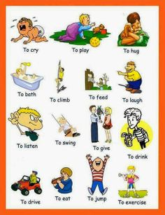 English For Me And You: افعال verbs