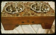Cool dog feeders  check out HungryHoundsFeeders facebook page