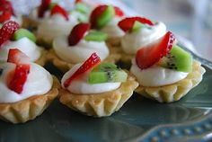 Mini Tarts with cream cheese filling